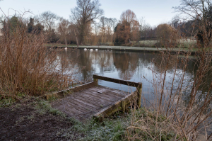 The derelict fishing platforms will be replaced and restored.